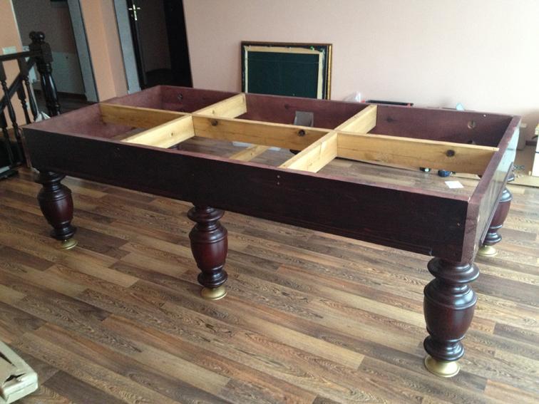 Инструкция по перетяжке бильярдного стола