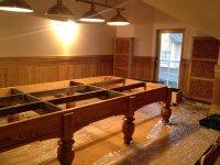 Сборка бильярдного стола Магнат Люкс 12 футов