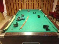Перетяжка бильярдного стола 8 футов для игры в пул г. Железнодорожный