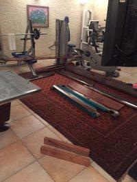 Демонтаж 9 ф перенос и монтаж в другом доме
