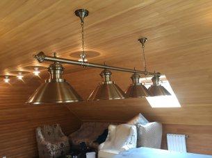 светильник для бильярда