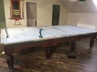 Юстировка стола для бильярда