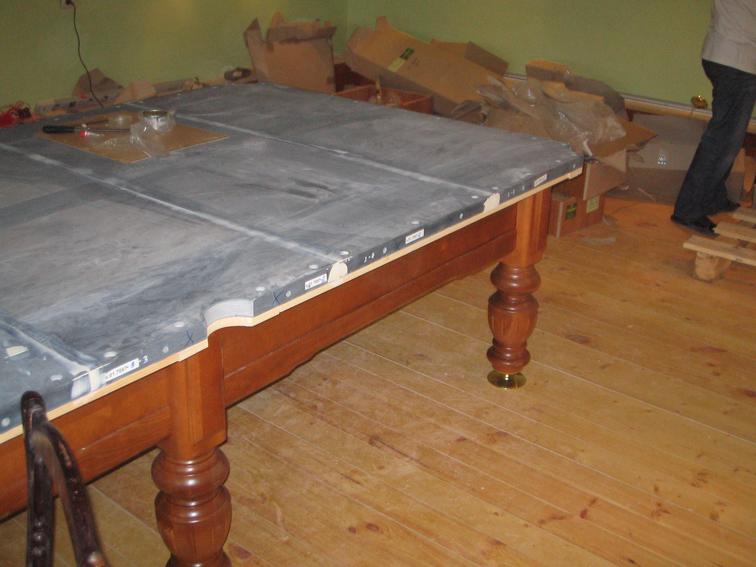 Как и из чего делают бильярдные столы